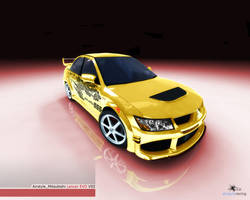 3D Mitsubishi Lancer EVO VIII by airstyle