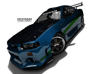 Tanabe racing GTR by airstyle