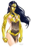 Wonder Woman Concept by crayonslut