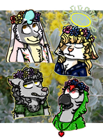 flowers crowns by latiapainting