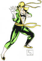 Immortal Iron Fist by EdSquared