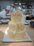 Spring Bouquet Wedding Cake by pathofpetals