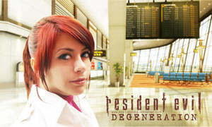 Claire Redfield RE Degeneration cosplay by CodeClaire