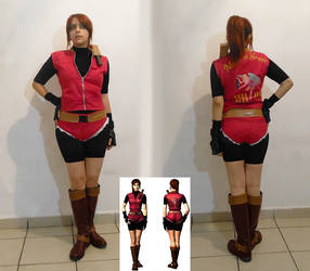 Claire Redfield cosplay - artwork 1 by CodeClaire