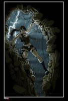 lara croft orage by illyne