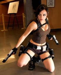 cosplay lara croft by illyne