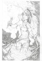 tomb raider reborn fan art ( WIP ) by illyne