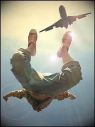 Free Fall I by brtl