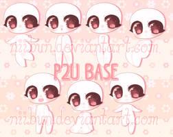 P2U Chibi Base + Poses! by niibun