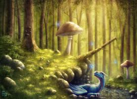 Forestdragon by free4fireYouTube