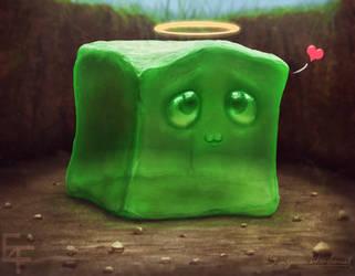Fan Art Doodle ''Jerry the Slime'' by free4fireYouTube