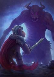 Commission: ''Katu: the tiniest hero'' by free4fireYouTube