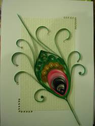 quilling greeting card by Shreshtha24