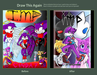 Draw This Again: Imp Cover by NeroStreet