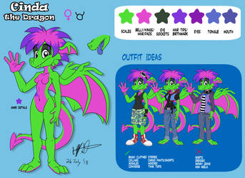Cinda Reference 2018 by NeroStreet