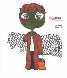 ZombDoodlez Trick R Treat Angel by PlayfulDead