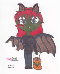 ZombDoodlez Trick R Treat Bat by PlayfulDead