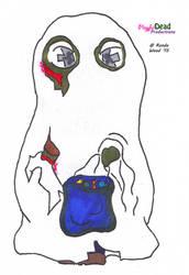 ZombDoodlez Trick R Treat Ghost by PlayfulDead