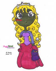 ZombDoodlez Trick R Treat Princess by PlayfulDead