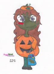 ZombDoodlez Trick R Treat Pumpkin by PlayfulDead