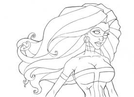 Line art Mack by Superfluous-Lore