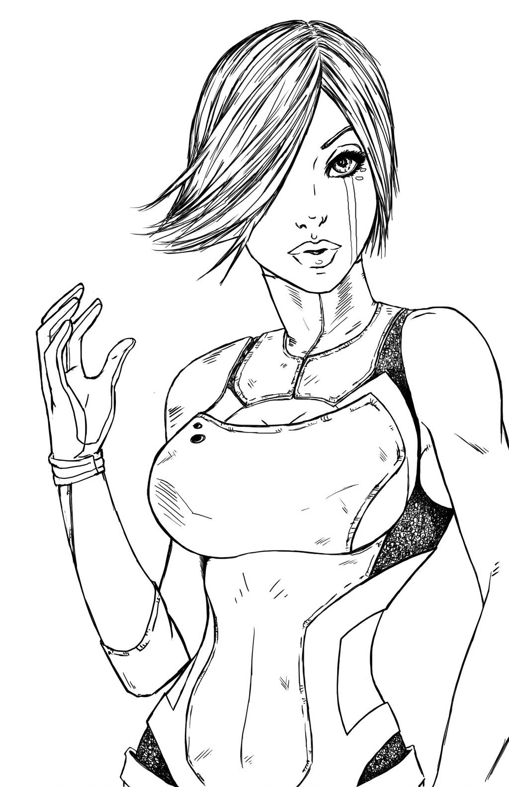 Maya Lineart by Superfluous-Lore
