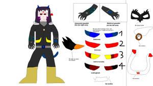 Anubis minazuryu (current outfit) by anubisH55513