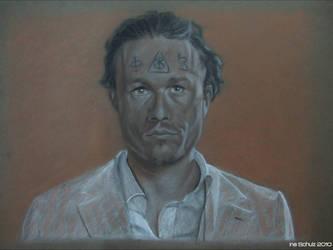 Heath Ledger - Tony by shaman-art
