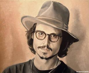 Johnny Depp - Japan 2006 by shaman-art