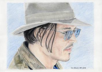 Johnny Depp - Las Vegas 2013 - 2 by shaman-art