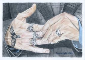Johnny Depp's Hands by shaman-art