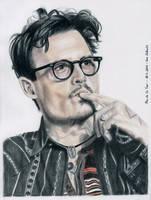 Johnny Depp - China 2014 by shaman-art
