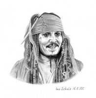 Johnny Depp - Captain Jack by shaman-art