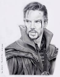 Benedict Cumberbatch - Doctor Strange by shaman-art