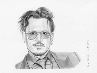 Johnny Depp - Rhonda's Kiss Healing and Hope Award by shaman-art