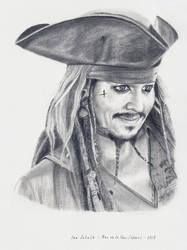Johnny Depp - Jack - POTC 5 by shaman-art