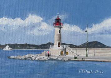 St. Tropez Lighthouse by shaman-art