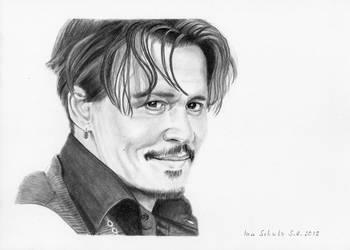 Johnny Depp - LA - May18, 2017 by shaman-art