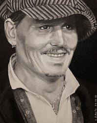 Johnny Depp - Zurich 2018 by shaman-art
