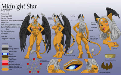 Commission Reference Sheet Midnight Star by Einom