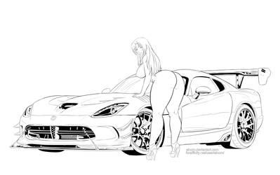 Commission Mizuho Dodge Viper by Einom