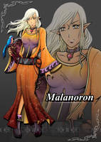 Malanoron and Annur by Bob-Raigen