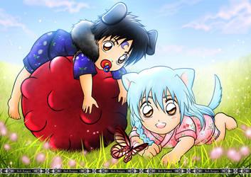 com: Baby Inuoji and Inuki by Bob-Raigen