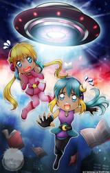 Shio and Kosho Abducted - KamiCon season 9 by Bob-Raigen