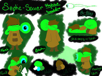 Septic Saver Sketches by Blu-B3rry