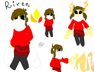 Riven Character Sheet by Blu-B3rry