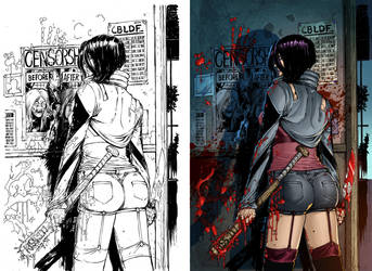 Hack Slash Resurrection (PROCESS) by CarlosMorenoD-Art