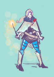 Wild West Wizardpunk by sparkyrabbit