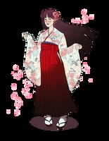 Rei Hino - Graduation Day by sparkyrabbit