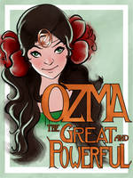 Ozma The Great And Powerful by sparkyrabbit